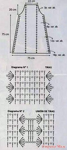imagini pentru modele bluze crosetate manual cu diagrama
