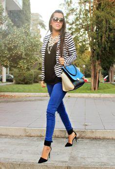 stripes&blue!   Chicisimo