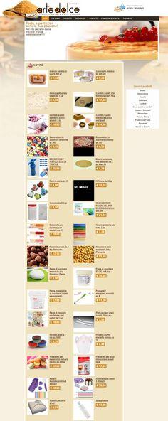 Tramite questo sito Arte Dolce mette a disposizione la propria esperienza anche a chi non è del settore ma ama cimentarsi in dolci creazioni tra le mura domestiche. www.artedolceparma.it