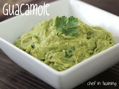 Guacamole!... Easy, fast, and delicious!