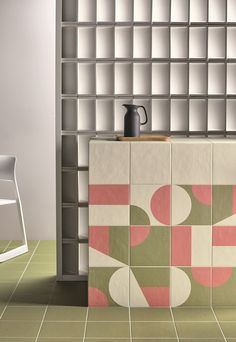 Mutina - Puzzle Collection by Edward Barber and Jay Osgerby Mutina Puzzle, Interior Architecture, Interior And Exterior, Wall And Floor Tiles, Wall Patterns, Tile Design, Interiores Design, Wall Decor, House Design