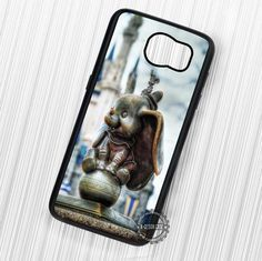 Dumbo The Flying Elephant Statue Disneyland - Samsung Galaxy S7 S6 S5 Note 7 Cases & Covers