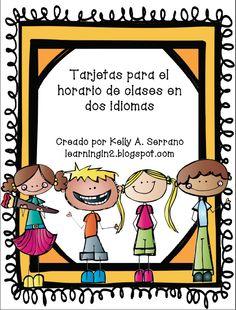 Back to School Bilingual Blog Hop