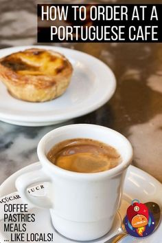 Don't speak Portuguese? No worries! NOW, you will know how to order coffee and food at a typical Portuguese cafe, aka, Pastelaria!