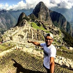 """The World is big and I want to get a good look at it"" - John Muir  LaT's own Keval Soni at the Summit of Machu Picchu. Send in your Leave a Trace photos for a chance on our page!"