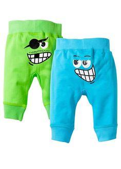 Spodnie dresowe niemowlęce (2 pary) Z • 55.98 zł • Bon prix