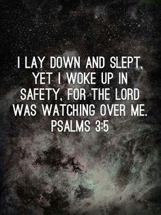 Psalms 3:5