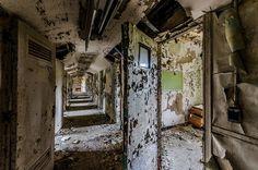 An abandoned juvenile detention center in Atlanta, Georgia.