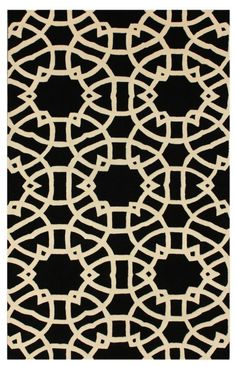 Rugs USA Tuscan lattice Black Rug, 100% Wool, Hand Loomed, Contemporary Rugs, Transitional Rugs, tan, home decor, sale, discount.