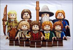 Image de la news Le Seigneur des Anneaux aussi en LEGO