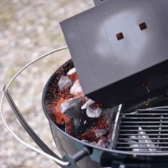 Let Smoke-Master General Steven Raichlen teach you how to turn your grill into a smoker with these tips excerpted from his latest bestseller. Apple Crisp Topping, Steven Raichlen, Cast Iron Cooking, Smoking Meat, Charcoal Grill, V60 Coffee, Barbecue, Bbq Tips, The Cure