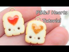 #kawaii #charms #polymer #clay #peanut #butter #jam #toasts #tutorial