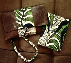 SweetLife by Mars #Africa #clutch #pattern #leather #africanprints #fashion
