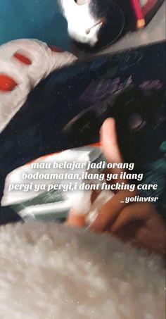 Quotes Rindu, Quotes Lucu, Snap Quotes, Quotes Galau, Tumblr Quotes, Tweet Quotes, People Quotes, Mood Quotes, Funny Quotes