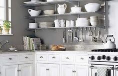 Home Shabby Home:Country Kitchens