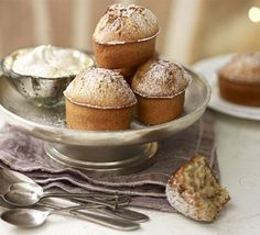 Ginger Teacakes.  butter,   egg whites, plain flour, ground cinnamon, nutmeg, ground ginger, icing sugar , plus extra for dusting,    ground almonds