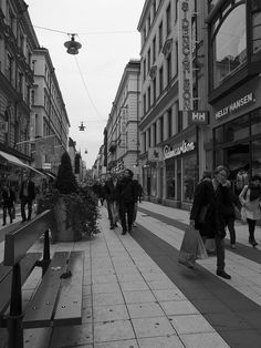 Shopping in Stockholm by Tsuneo, via Flickr