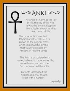 Ancient Egyptians would bury the dead with an ankh and live scorpions to help them with transmutation in the afterlife 😍 Egyptian Mythology, Egyptian Symbols, Ancient Symbols, Ancient Egypt, Mayan Symbols, Viking Symbols, Viking Runes, Adinkra Symbols, Egyptian Art