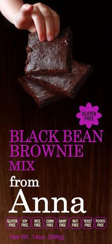 Gluten Free Black Bean Brownie Mix