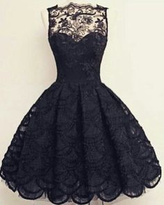 Vintage Scalloped-Edge Sleeveless Lace Black Party Prom Dress With Appliques Black Prom Dresses Lace Prom Dresses Vintage Prom Dresses Lace Black Prom dresses Elegant Homecoming Dresses, Dresses Elegant, Lace Homecoming Dresses, Hoco Dresses, Black Prom Dresses, Prom Party Dresses, Pretty Dresses, Vintage Dresses, Vintage Prom