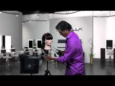 beveled fringe hot tips 2012 Youtube Hair Tutorials, Makeup Tips, Hair Makeup, Cosmo Girl, Cutting Hair, Round Brush, Hat Patterns, Flat Iron, Fringes