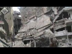 VÍDEOS INÉDITOS DA GUERRA NA SÍRIA - DESTRUIÇÃO NA CIDADE