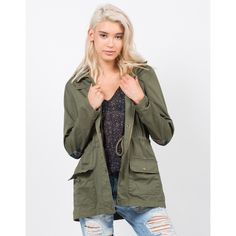 Plaid Hoodie Anorak Jacket (€29) ❤ liked on Polyvore featuring outerwear, jackets, zip jacket, cotton zip jacket, tartan jacket, zipper jacket and long sleeve jacket