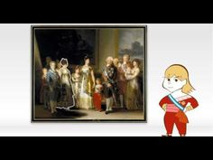 Obras comentadas: La familia de Carlos IV, de Goya - Vídeo - Museo Nacional del Prado Spanish Art, Spanish Culture, Spanish Class, Art History, Literature, Painting, Fictional Characters, Picasso, Multimedia