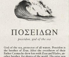 Poseidon myth essay