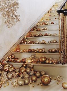 Cool way to convey that your upstairs is off-limits to party guests or simply decorate one side of your staircase to remain practical.