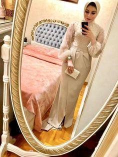 New Skirt Hijab Outfit Formal 60 Ideas Hijab Prom Dress, Hijab Evening Dress, Hijab Style Dress, Hijab Wedding Dresses, Muslim Dress, Evening Dresses, Hijabi Wedding, Hijab Outfit, Dresses For Hijab