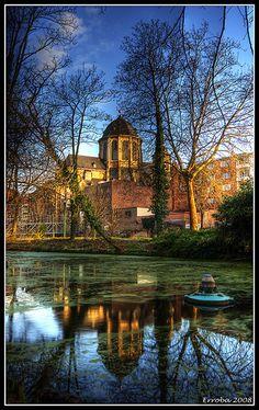 Hanswijk church seen from Botanical Garden / Hanswijk kerk gezien vanuit de Kruidtuin - Mechelen - Belgium by Erroba (Back from holiday), via Flickr