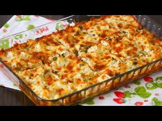 Bir Tane Karnabahardan Kocaman Bir Tepsi Dolusu Yemek✅MUHTEŞEM LEZZET💯 - YouTube Lasagna, Quiche, Food And Drink, Pizza, Cheese, Breakfast, Ethnic Recipes, Youtube, Essen