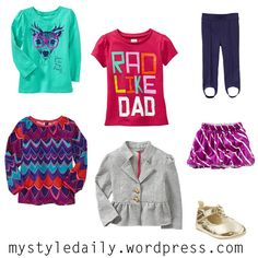 Fall outfit ideas for a little girl