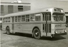 Washington, D.C. Capital Transit Bus 1952.