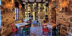 ΓΕΥΣΗ   Τα καλύτερα ταβερνάκια στους Αμπελόκηπους Italia Restaurant, Thessaloniki, Athens, Coffee Shop, Greece, Places, Modern, Islands, Restaurants