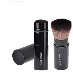 CCbeauty IMAGIC Retractable Kabuki Blush Foundation Powder Cosmetic Makeup Brush Kit >>> Check out this great product. (This is an affiliate link and I receive a commission for the sales) It Cosmetics Foundation, Powder Foundation, Brush Sets, Makeup Brush Set, Makeup Cosmetics, Image Link, Blush, Lipstick, Kit