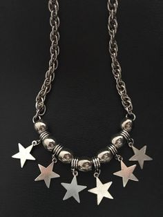 Collar YOKE Star * - Buscanos en Facebook Rainbow VC Mood Jewelry, Chunky Jewelry, Cute Jewelry, Diy Jewelry, Jewelery, Handmade Jewelry, Jewelry Making, Diy Earrings, Diy Necklace