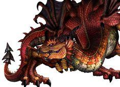 Dragon's Crown Art: Dragon (Art by George Kamitani) Magical Creatures, Fantasy Creatures, Do Dragons Exist, High Fantasy, Fantasy Art, Personal Project Ideas, Crown Art, Dragon Pictures, Art Pictures