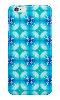 """Texture ""east pattern"" the blue"" iPhone Cases & Skins by floraaplus 