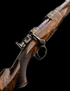 A Brace Of Superb Hartmann & Weiss Bolt Action Rifles Airsoft Guns, Weapons Guns, Lethal Weapon, Bolt Action Rifle, Firearms, Shotguns, Custom Guns, Fire Powers, Home Defense