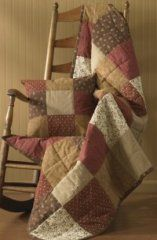 Grandma's Quilt Throw Blanket - For W. Logsdon pillows