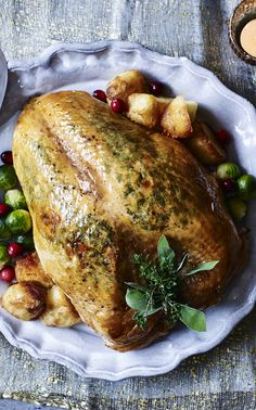 gordon ramsay makes a turkey crown with a stove top stuffing everyone will love happy - Best Christmas Dinner