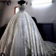 Wow... I'm not a ball gown kinda girl, but this is gorgeous.
