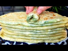 Turkish Recipes, Ethnic Recipes, Savory Pancakes, Happy Foods, Mediterranean Recipes, International Recipes, Food To Make, Breakfast Recipes, Food And Drink