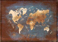 world map - JBJart