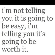 Nothing worthwhile is going to be easy!  Try harder!