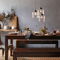 Pendant lighting for kitchen table large oversized pendant light modern glamour dining table home decor loves pinterest aloadofball Image collections