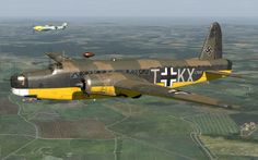 Captured Wellington Mk1c in Luftwaffe markings