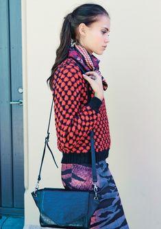 Click to enlarge Vera Bradley Backpack, Knitwear, Knit Crochet, Orange, Knitting, Sweaters, Tops, Women, Fashion